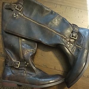 NWOT Report Vegan Leather Boots